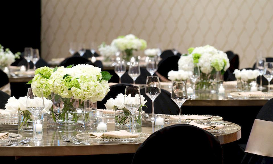 wine centrepiece wedding wedding reception banquet function hall ceremony flower arranging Dining rehearsal dinner floristry Party dinner floral design flower ballroom restaurant dining table set
