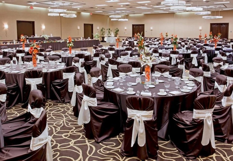 function hall chair banquet Dining ceremony wedding Party wedding reception many ballroom full long set restaurant conference room dining table