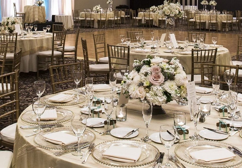 plate Dining function hall centrepiece wedding banquet wedding reception ceremony set ballroom Party event rehearsal dinner dinner dining table floristry restaurant brunch