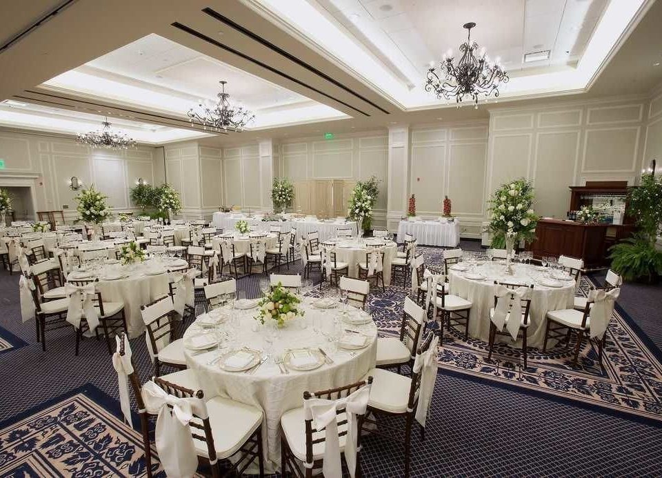 function hall banquet ceremony wedding ballroom Party restaurant wedding reception Dining conference hall dining table
