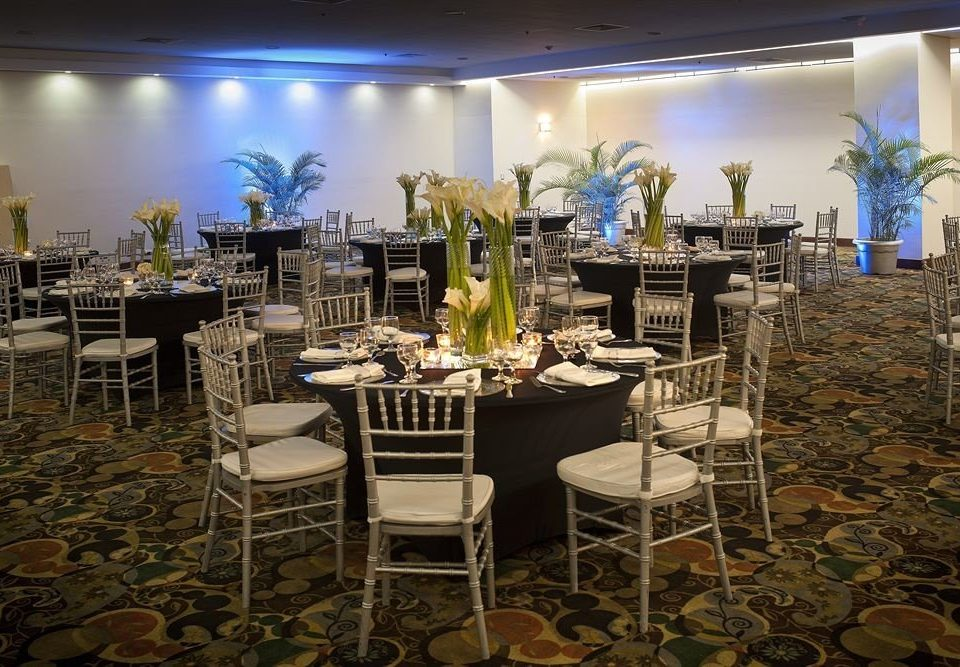 chair function hall banquet Dining wedding reception ceremony Party restaurant ballroom set