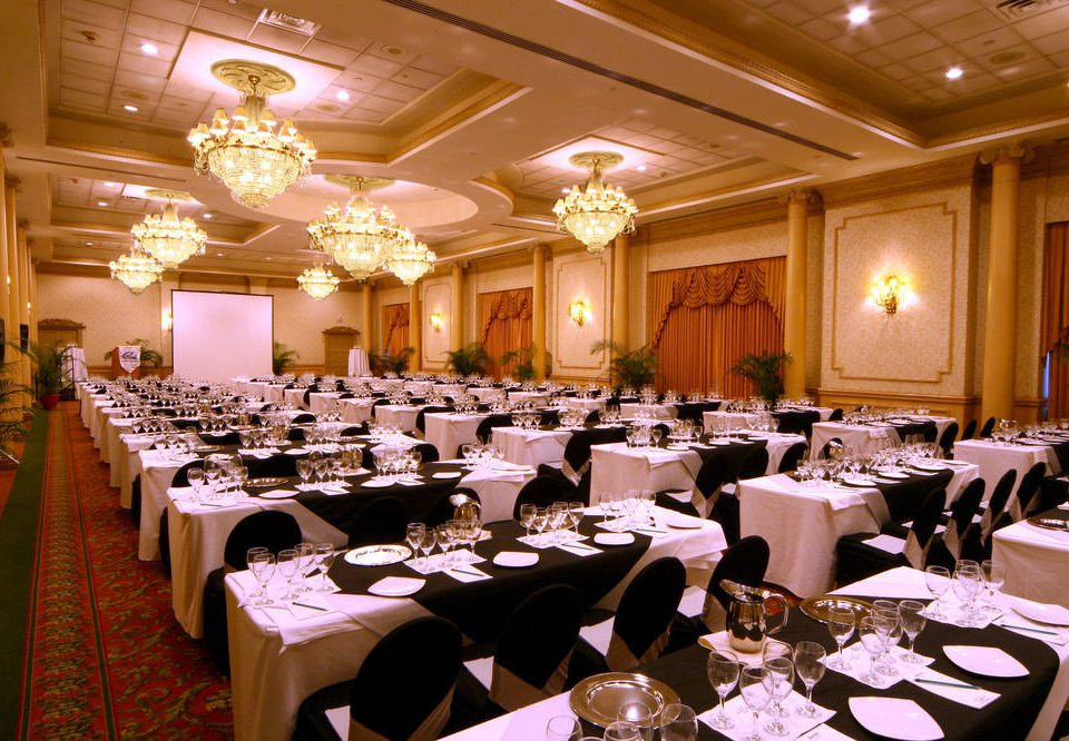 function hall Dining banquet ballroom wedding conference hall Party wedding reception convention meeting convention center restaurant set dinner