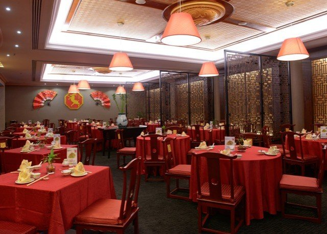 chair function hall red restaurant banquet Dining Party ballroom