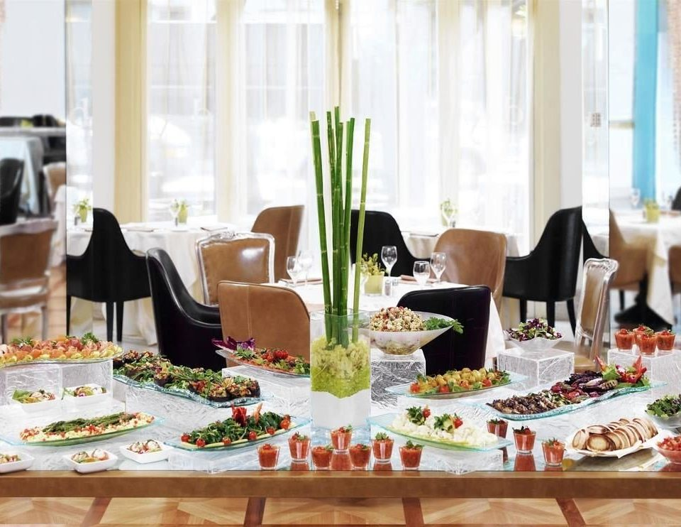 plate Dining banquet brunch function hall Party restaurant dining table rehearsal dinner event lunch dinner buffet set
