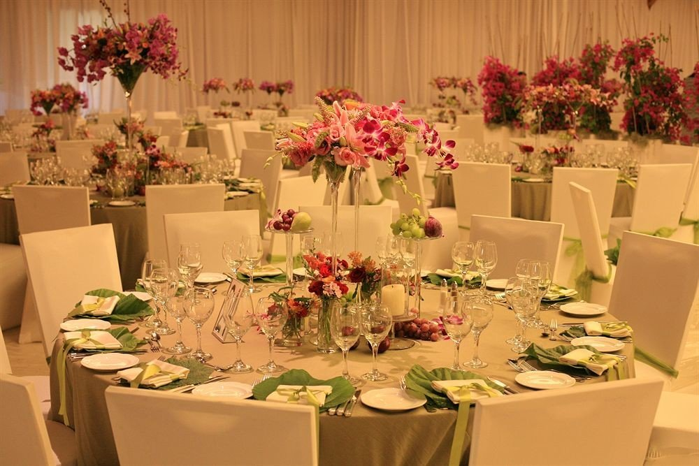 flower flower arranging centrepiece floristry banquet plant Dining floral design buffet function hall Party set dining table