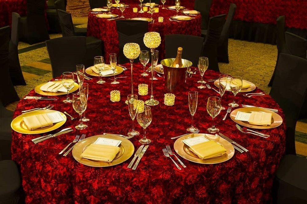 banquet dinner centrepiece function hall Party supper christmas dinner restaurant Dining set dining table