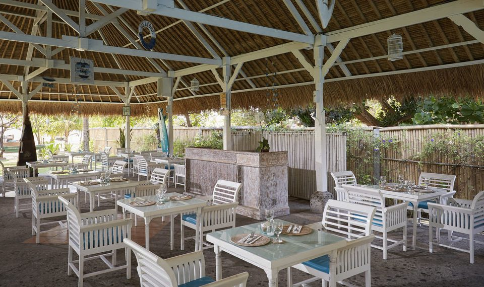 chair property backyard white outdoor structure function hall Resort Dining restaurant aisle cottage