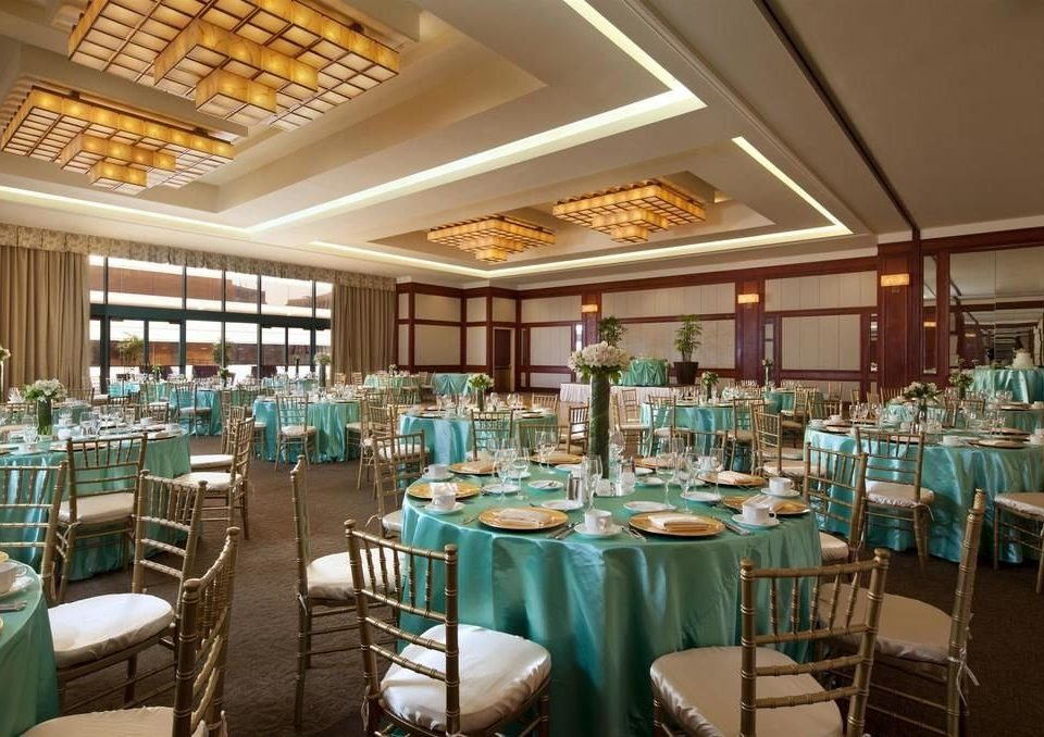 chair function hall restaurant Dining banquet convention center Resort ballroom wedding reception set