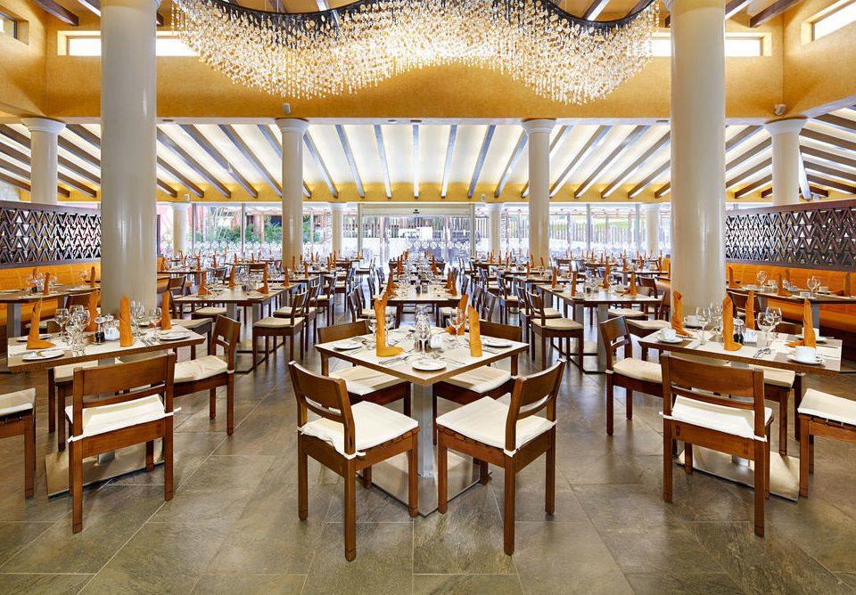 chair Dining function hall restaurant convention center Resort ballroom cafeteria set