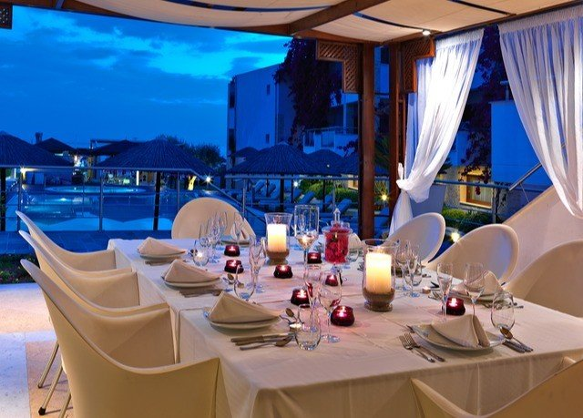chair restaurant Dining function hall Resort yacht banquet set