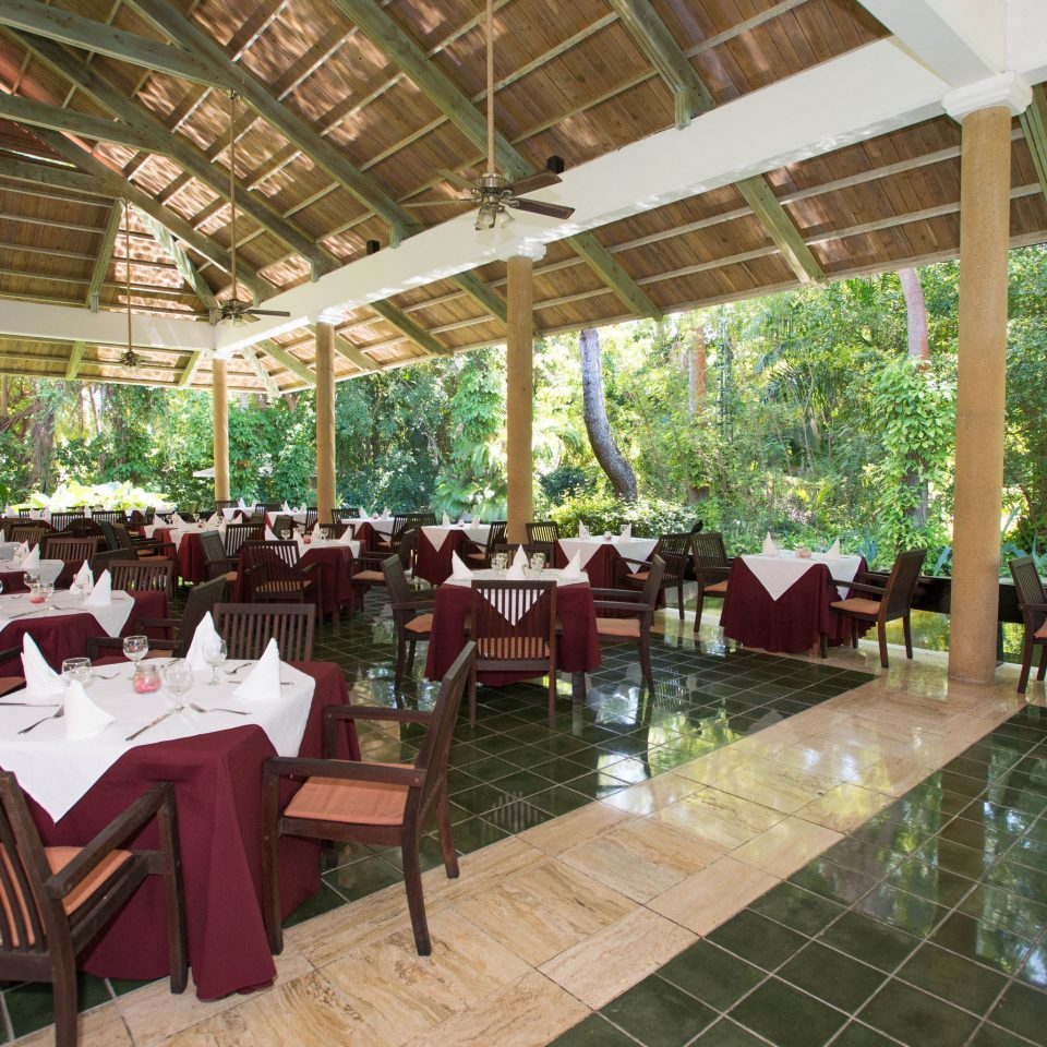chair Resort restaurant building Dining eco hotel outdoor structure set
