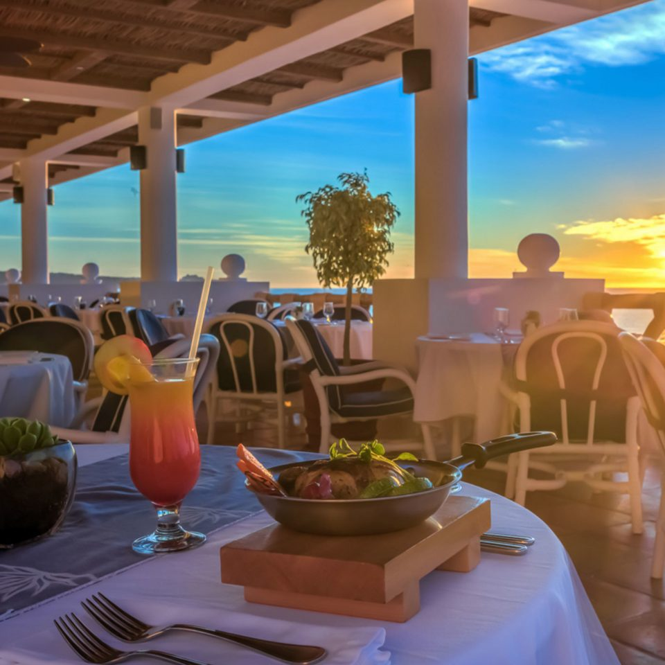 chair Resort restaurant Dining caribbean set