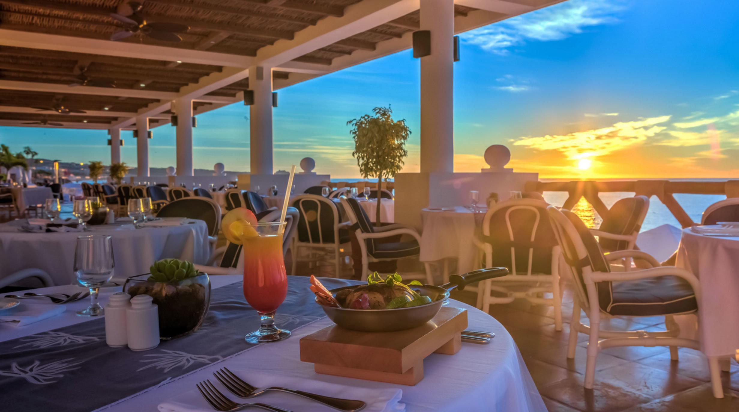 chair Resort restaurant Dining caribbean set