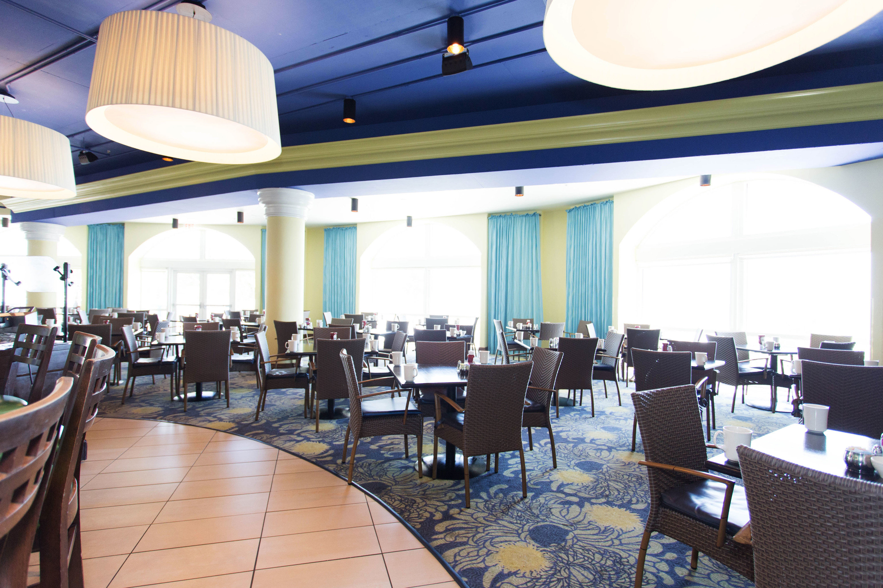chair restaurant Dining function hall conference hall Resort convention center