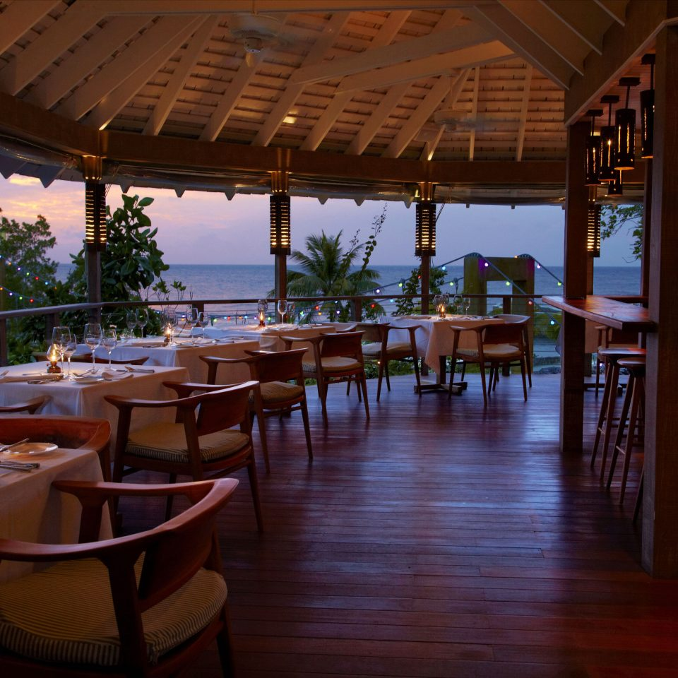 restaurant chair Resort Dining evening water leisure set