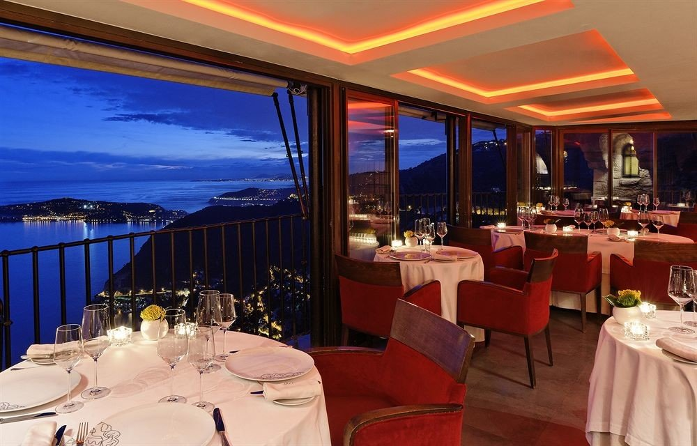 chair Dining restaurant function hall Resort overlooking