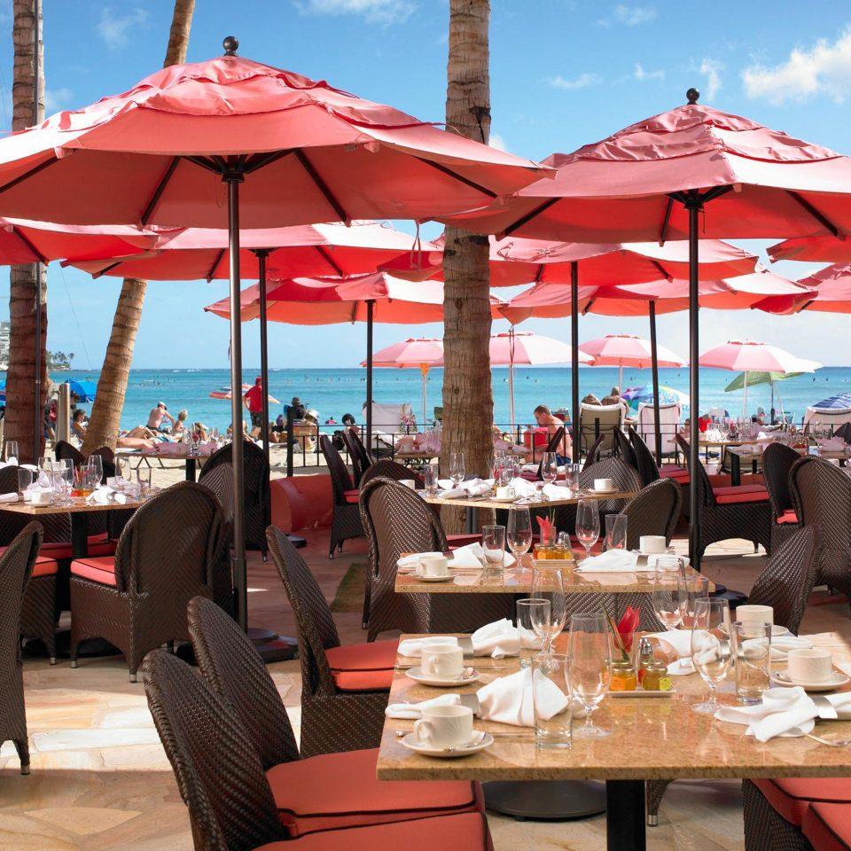 umbrella chair leisure restaurant Resort Dining set