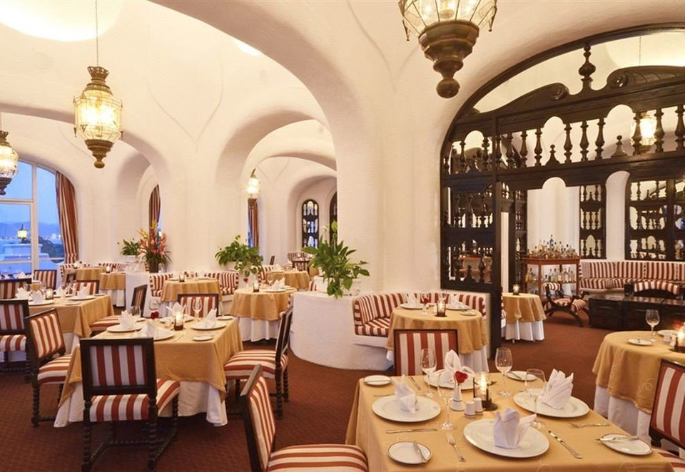 Dining restaurant function hall Resort palace set