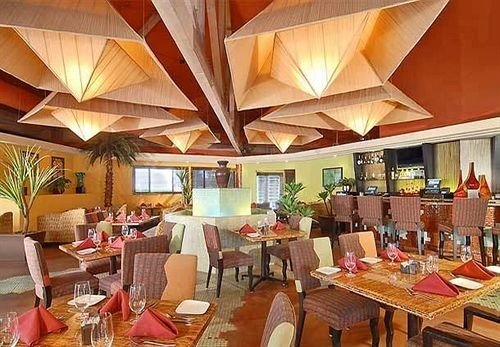 property Resort restaurant Dining function hall set