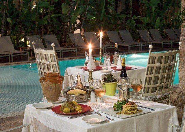Resort restaurant outdoor structure Dining leisure set
