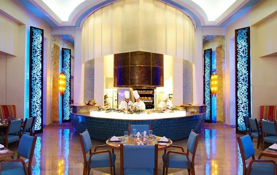 Resort function hall restaurant blue Suite mansion palace Dining