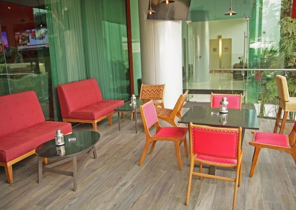 chair red Dining property restaurant wooden Resort Suite cottage
