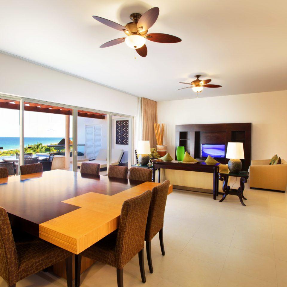 property chair Suite Resort living room Villa home condominium Dining cottage