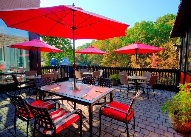 umbrella chair tree accessory leisure Resort lawn Dining restaurant hacienda set Villa cottage outdoor structure shade colorful day