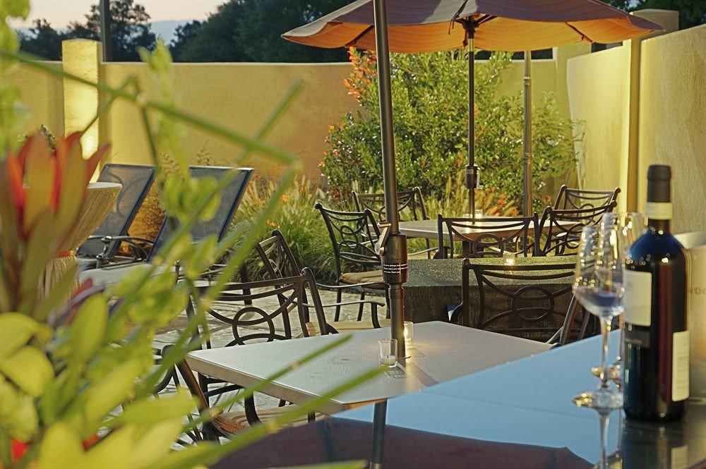 tree Dining restaurant Resort backyard Villa porch set dining table