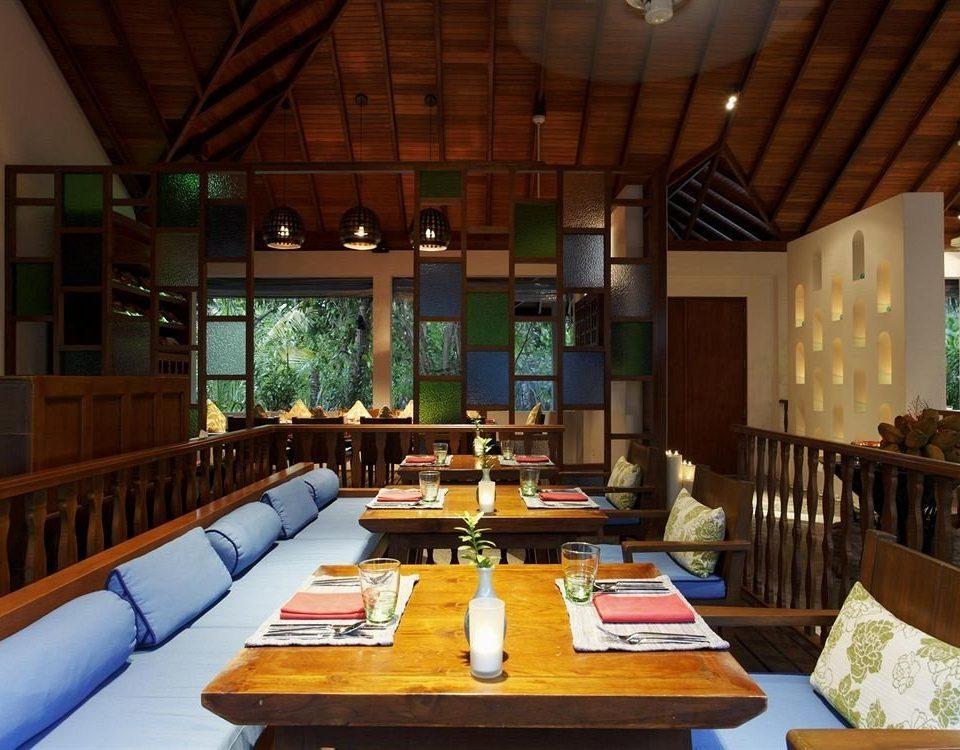 property recreation room billiard room Resort Dining restaurant Villa living room cottage