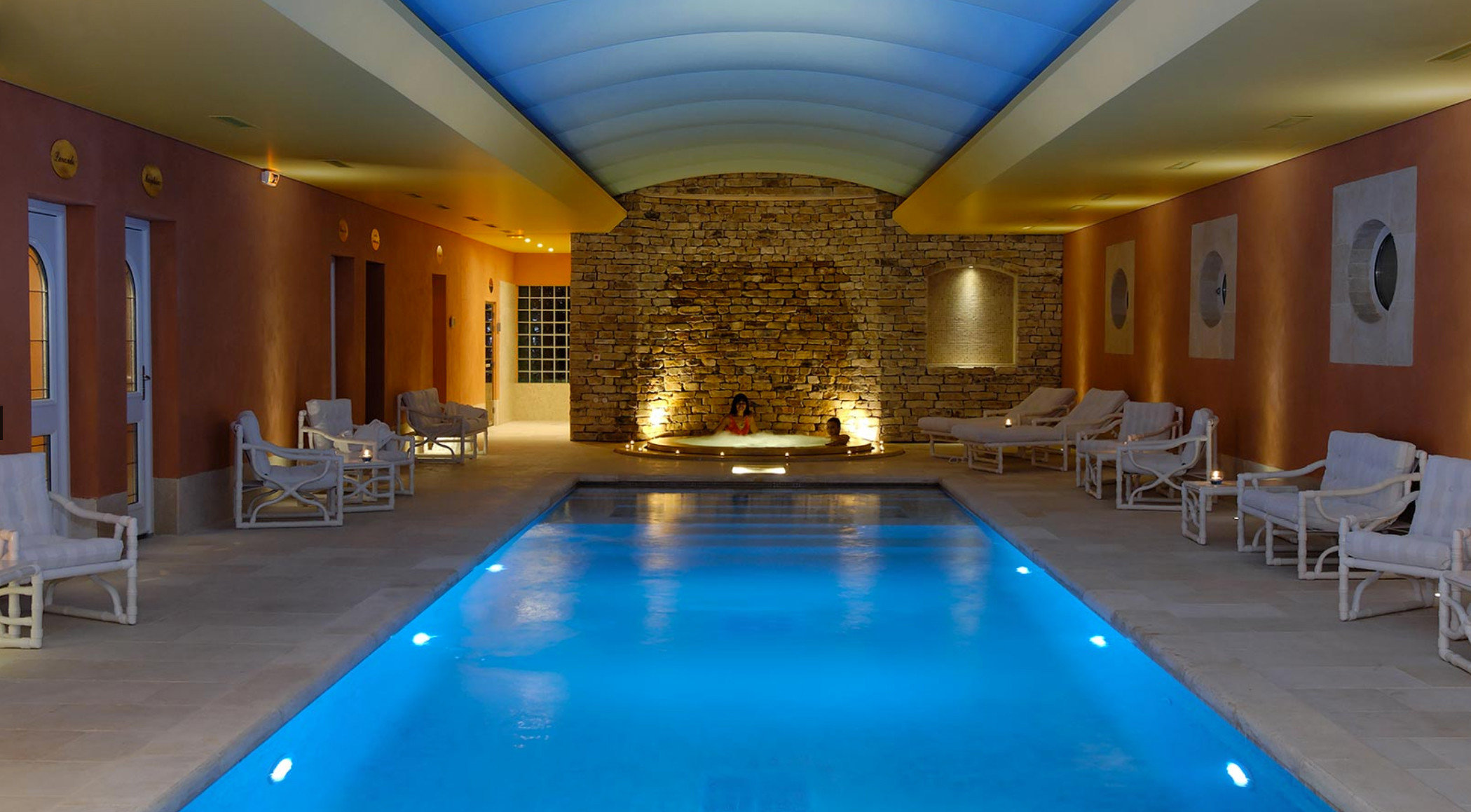swimming pool property Resort function hall Dining billiard room Villa mansion blue palace convention center