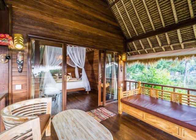 wooden chair property building Resort cottage log cabin home Dining living room eco hotel Villa dining table