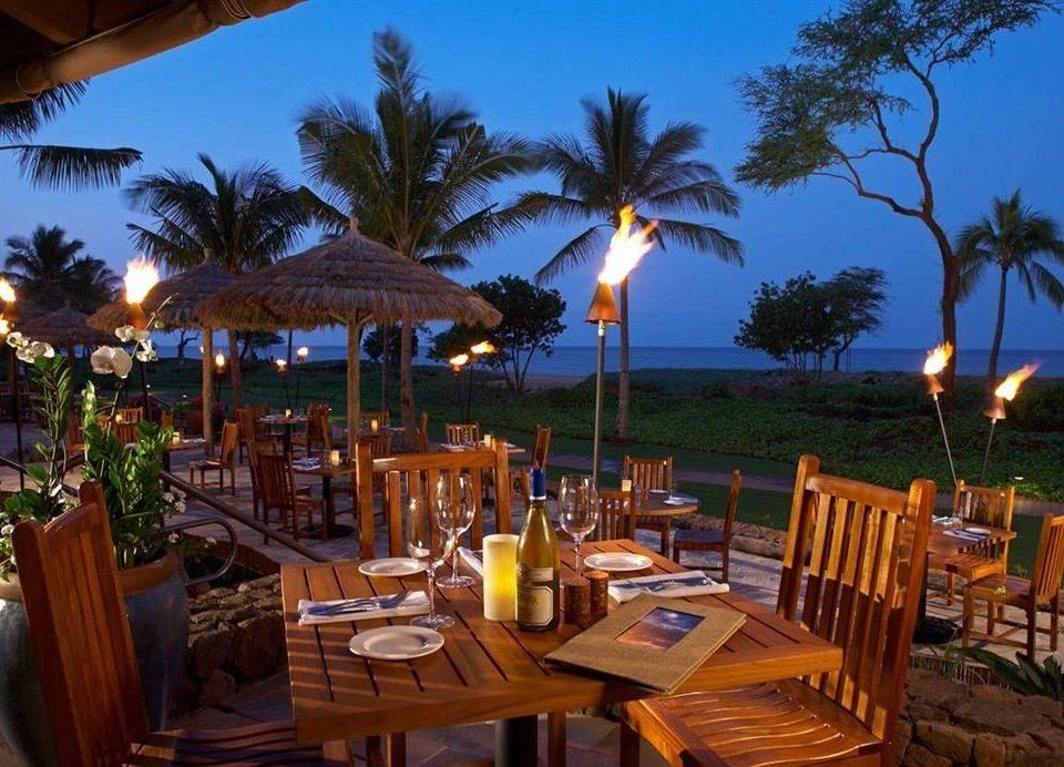tree sky chair Resort palm restaurant Dining caribbean eco hotel Villa hacienda set