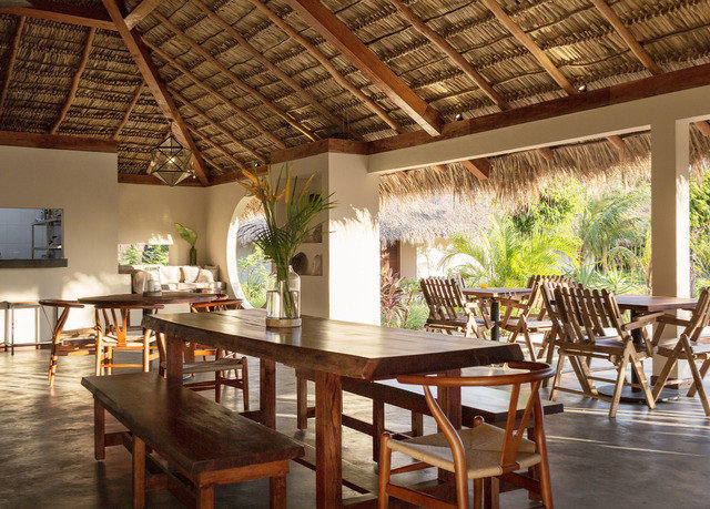 chair Dining property Resort wooden Villa hacienda flooring dining table