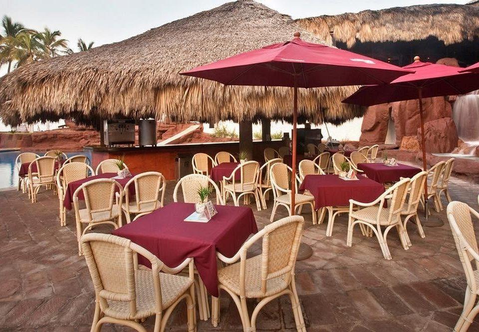 chair restaurant Resort Dining hacienda Villa dining table