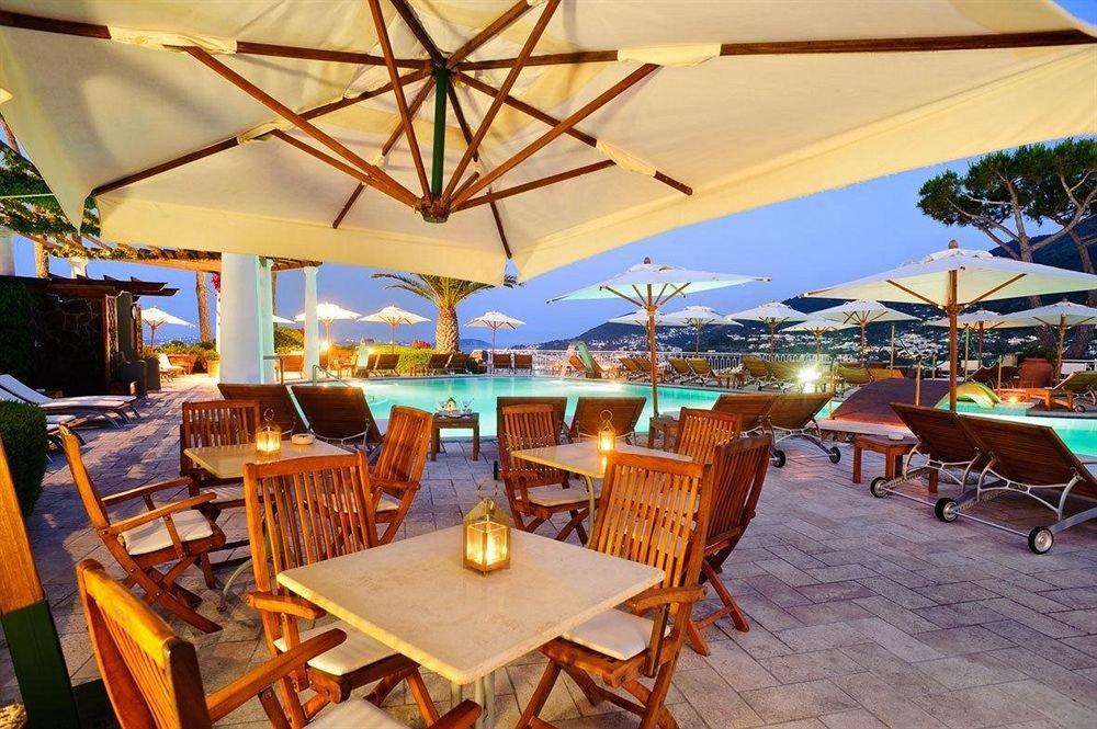 umbrella chair Resort restaurant Villa Dining open