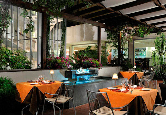 chair Dining restaurant Resort Villa outdoor structure set