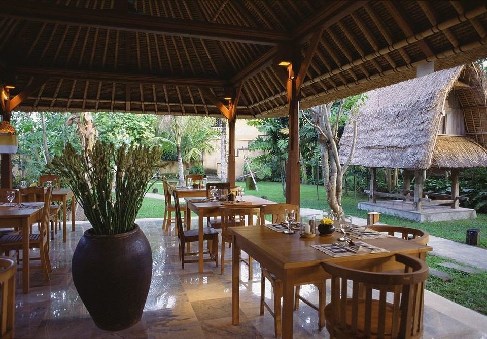 chair property Resort Dining restaurant hacienda Villa eco hotel outdoor structure