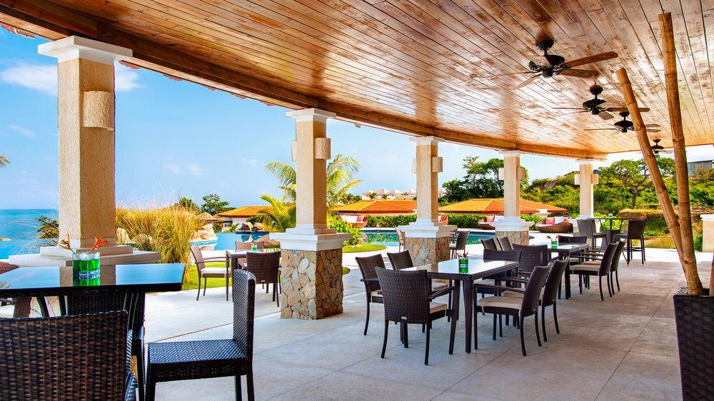 chair property restaurant Resort Dining wooden Villa hacienda