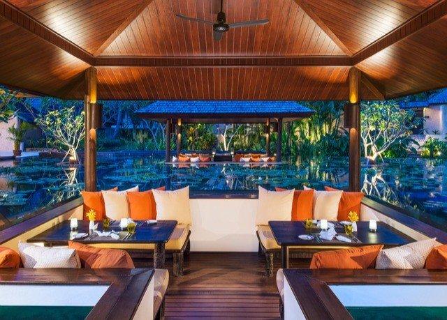 Resort swimming pool property leisure wooden Villa Dining restaurant eco hotel