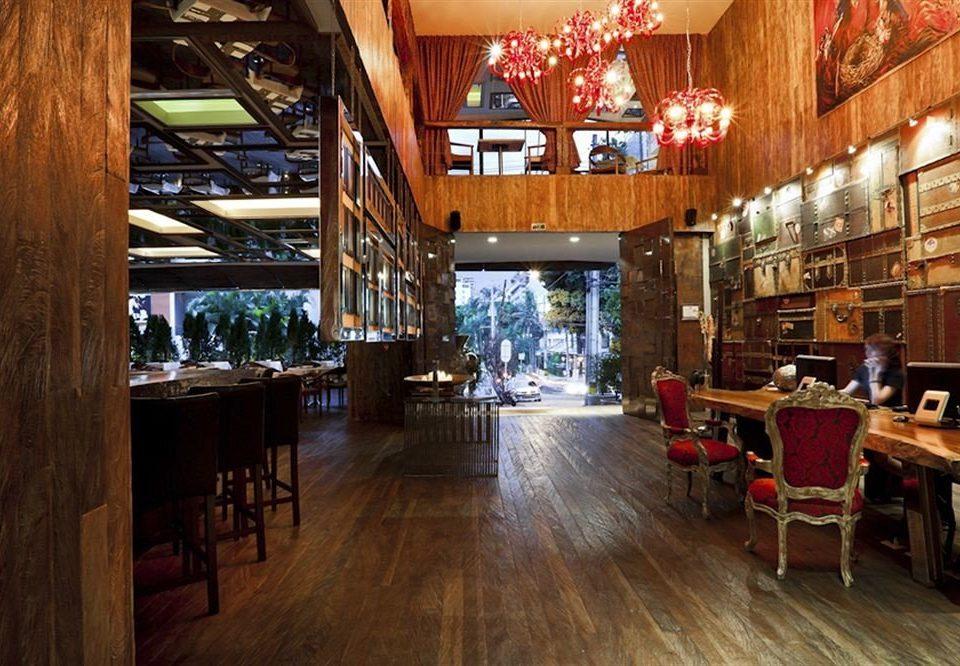 wooden restaurant Dining