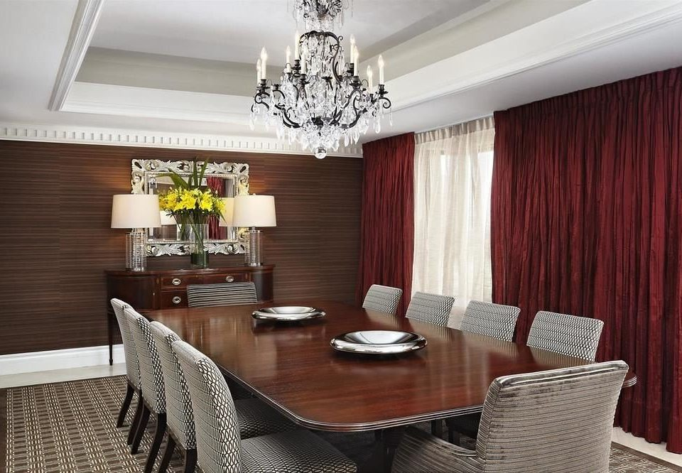 chair curtain property living room Dining Suite home condominium set dining table