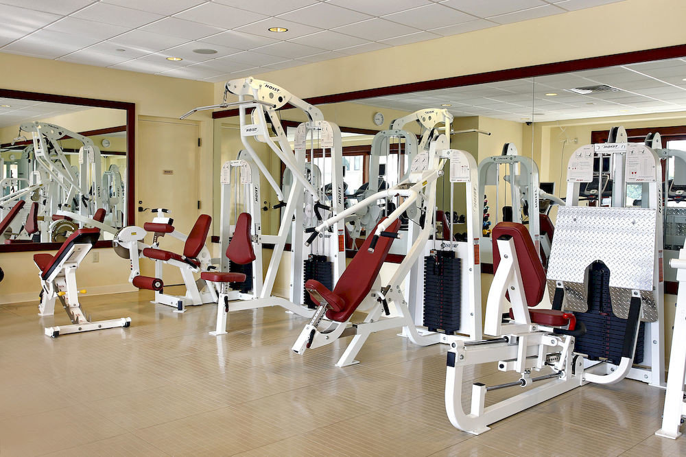 structure gym sport venue physical fitness dining table
