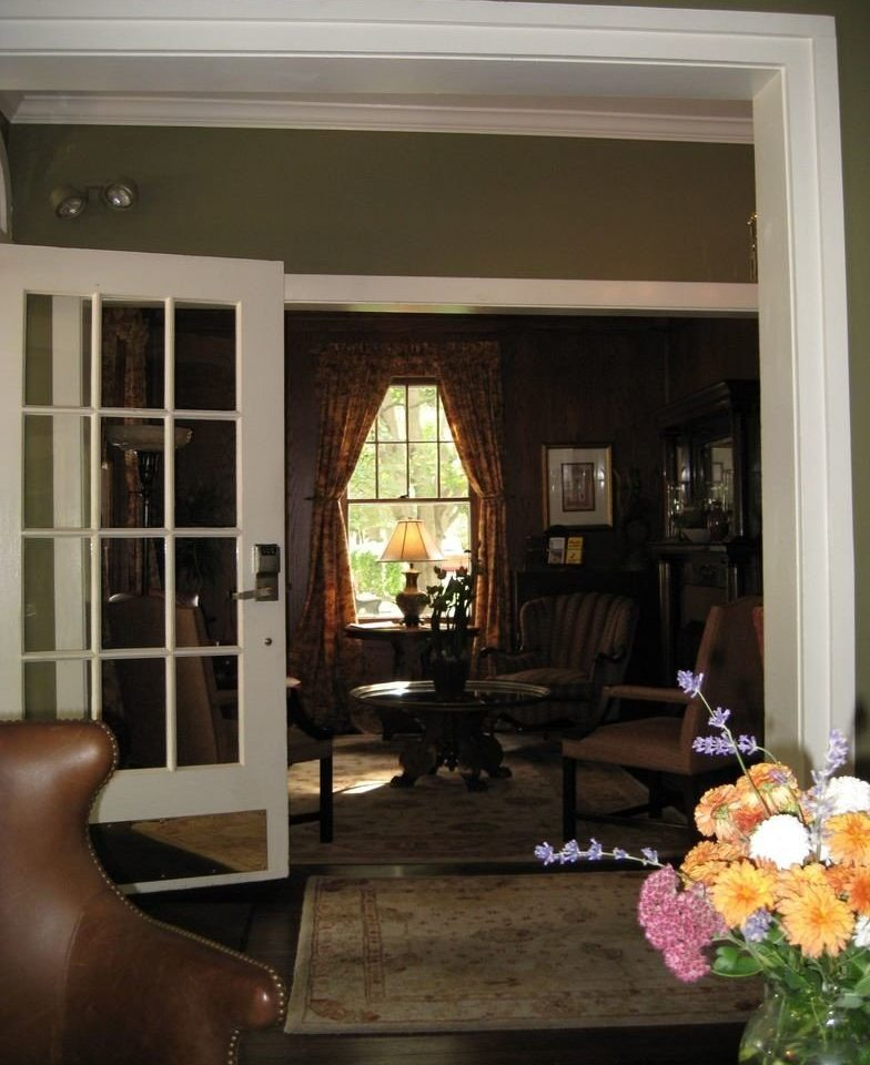 living room property home house porch dining table