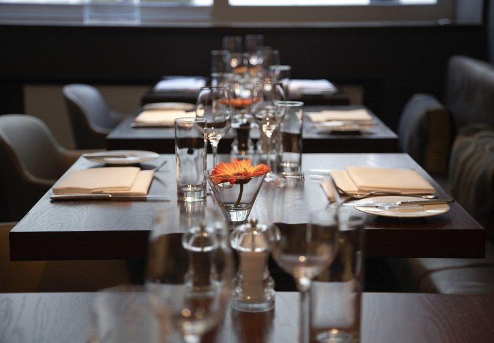 restaurant lighting dining table set