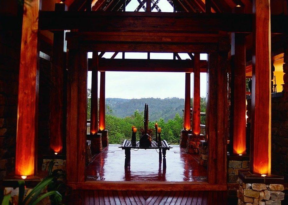 torii wooden temple lighting shrine shinto shrine dining table