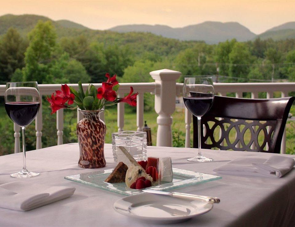tree restaurant set dining table