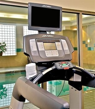 exercise machine sport venue display device treadmill exercise equipment