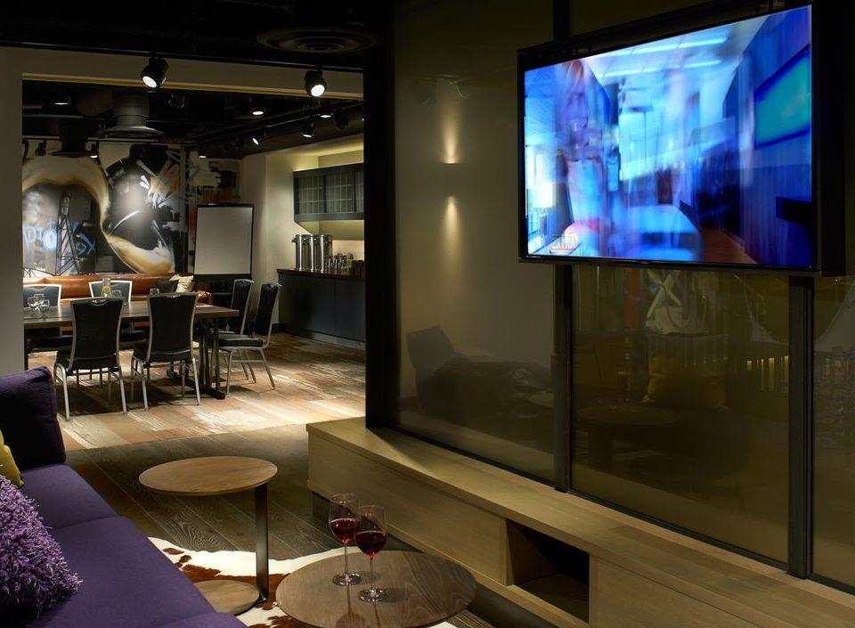 television living room lighting screenshot tourist attraction display device flat set