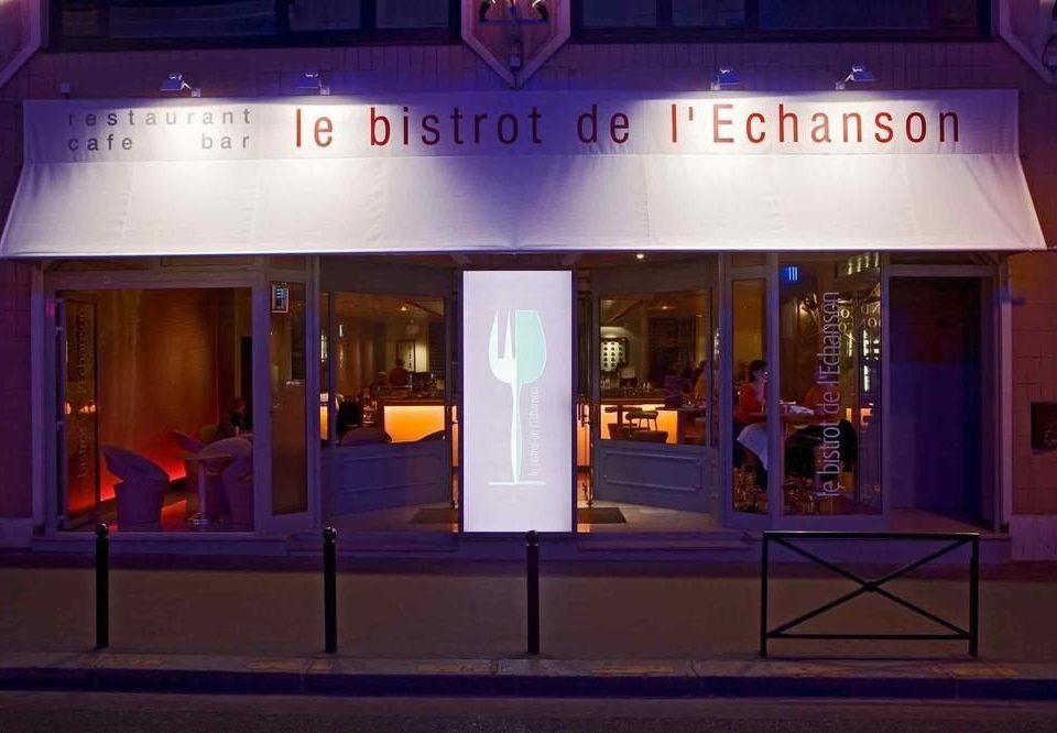 night stage display window theatre store